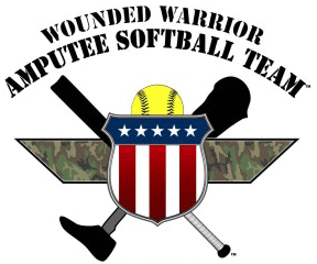 Wounded Warrior Amputee Softball Team Logo