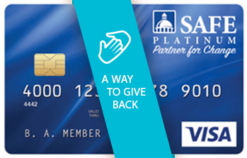 PARTNER FOR CHANGE VISA® CARD