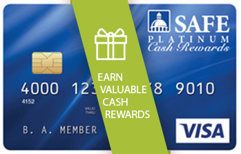 PLATINUM CASH REWARDS VISA® CARD