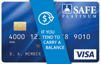SAFE Platinum Visa Card