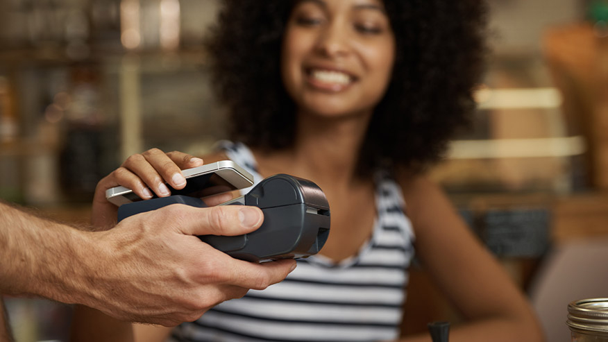 Make contactless purchases using Digital Wallet